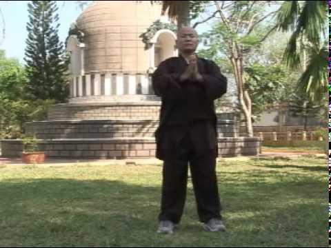 Luyện Phật Gia Khí Công với thầy Thích Trung Đạo - chùa Hoằng Pháp