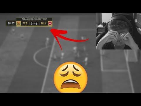 NAJDEPRESÍVNEJŠÍ ZÁPAS VO FIFE... 😫 FUT DRAFT - FIFA 18 ULTIMATE TEAM
