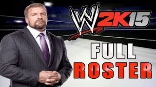 WWE 2K15 Full Roster & Superstar Overalls