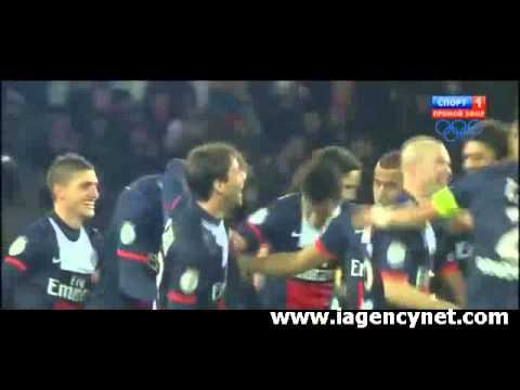 Paris Saint-Germain 5 - 0 Sochaux Highlights - iAgencyNet.com