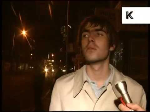 Late 1990s Liam Gallagher Drunk Interview, Archive Footage
