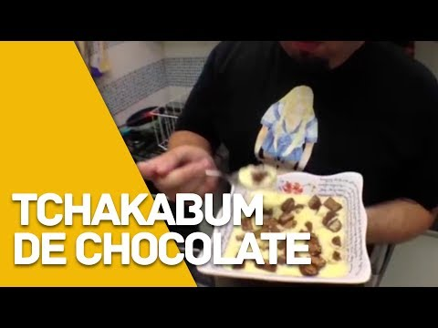 Tchacabum de Chocolate (doce de bombom )