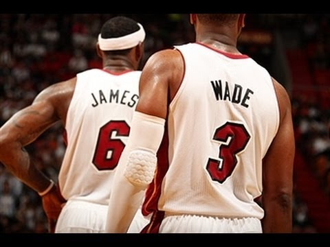 LeBron and D-Wade Lead the Heat Over the Rockets