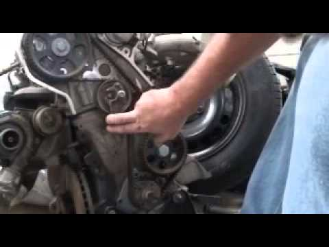 Timing Belt Replacement Passat Audi A4 1 8 Turbo Youtube