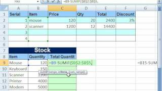 Excel Magic Trick 348: Formula For Unit Inventory Total