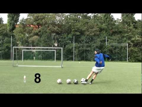 Knuckle Ball Run up Secret | Cristiano Ronaldo Free Kick Tutorial | Flatterball | schusstechnik