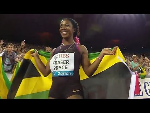 Shelly-Ann Fraser-Pryce wins 2013 Diamond - Universal Sports