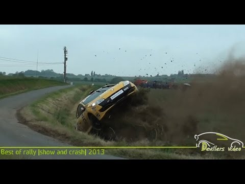 Best of Rally |show and crash| 2013 [HD-Pure sound] By Devillersvideo