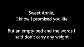 Zac Brown Band Sweet Annie (With Lyrics)