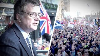 UKIP Leader Gerard Batten at Brexit rally: How Remainers betray British voters