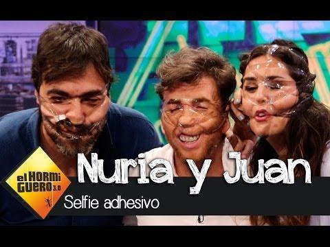 Nuria Roca, Juan del Val y Pablo Motos se atreven con el 'sellotape selfie' - El Hormiguero 3.0