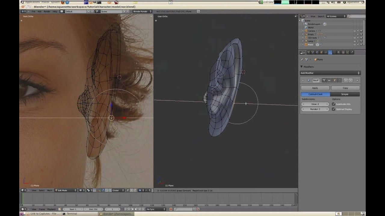 Character Modeling In Blender Pdf : Blenderella character bustersfiles