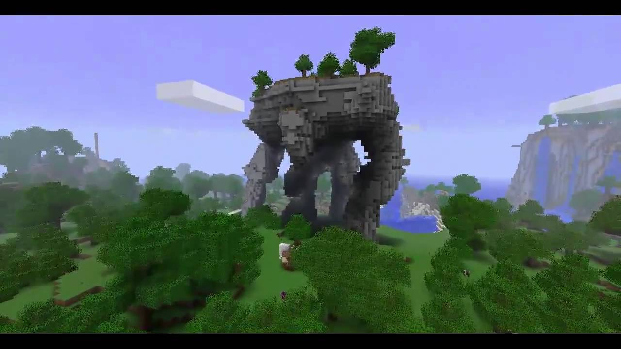 how to build a stone golem in minecraft