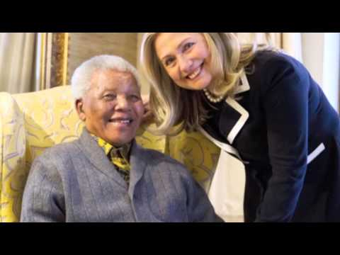 Across the globe, flags flew at half staff and memorials were erected outside South African embassies as mourners gathered to remember the life and legacy of Nelson Mandela. The former anti-apartheid leader died Thursday at the age of 95. (Dec. 6)
