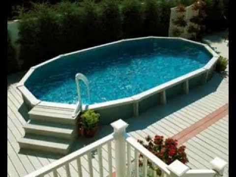 Above ground swimming pool deck design ideas youtube for Swimming pool design youtube
