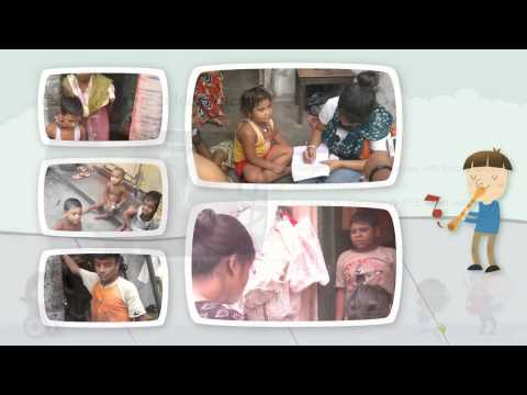 Right To Education at Pyarabagan Slum 2012-2013
