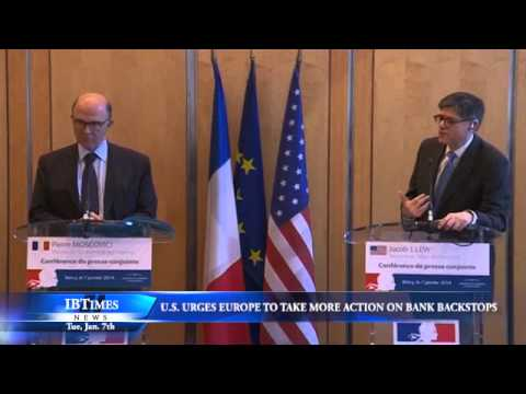 U.S. Urges Europe to Take More Action on Bank Backstops