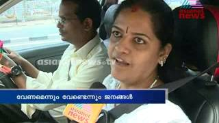 Seat belt controversy : People response