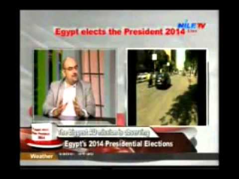 Dr Karim Hamza Egyptian Presidential Election 2014