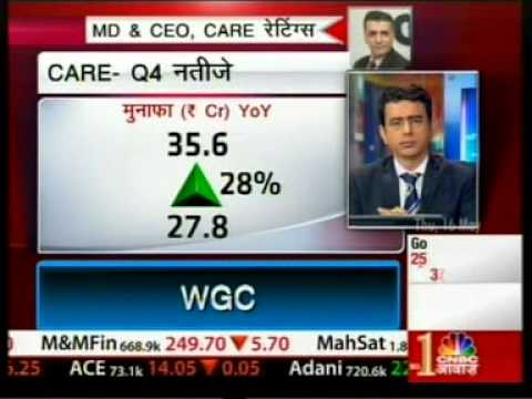 Mr D R Dogra - MD & CEO, CARE Ratings, Audited Financial Results FY13, CNBC Awaaz - 160513