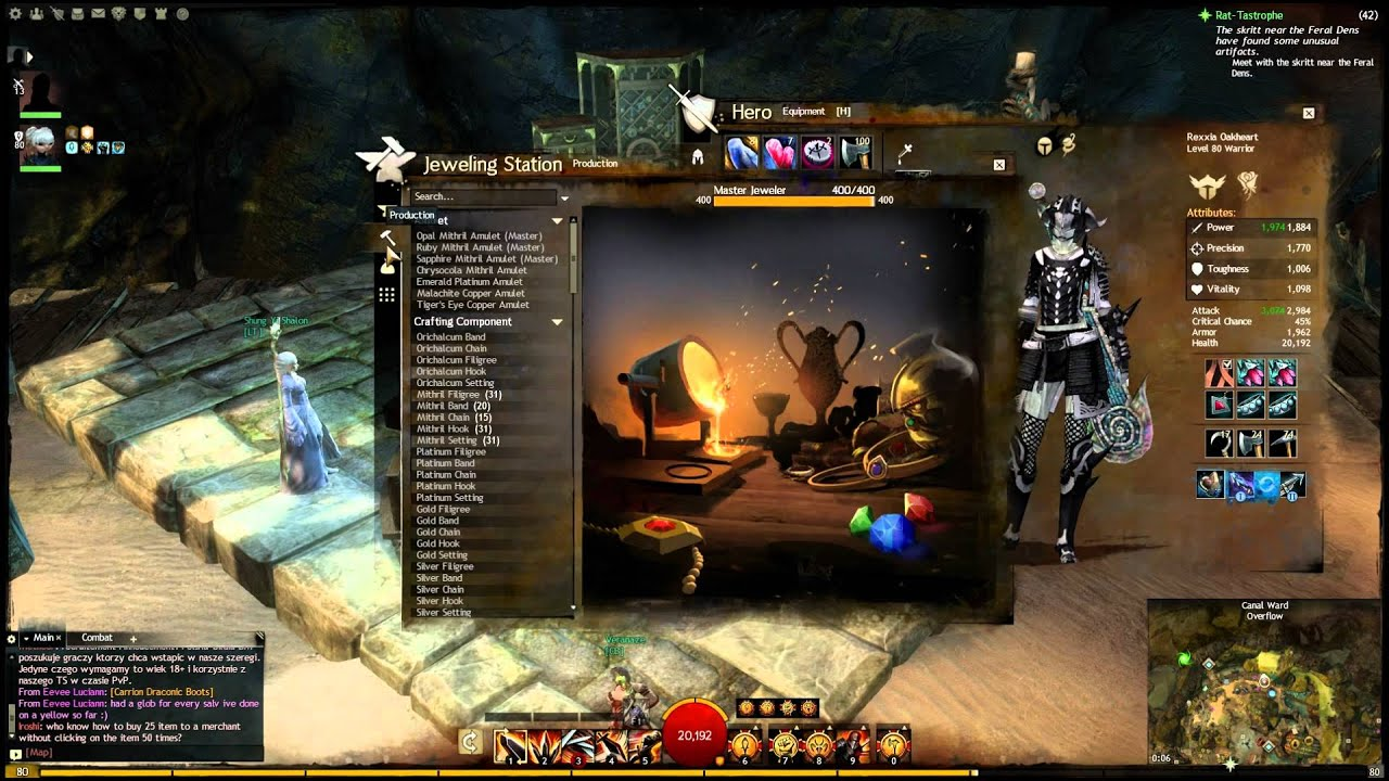 guild wars 2 jeweler leveling guide