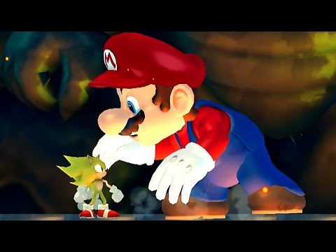 New Super Sonic Wii All Castles (Sonic VS Koopalings and Evil Mario)