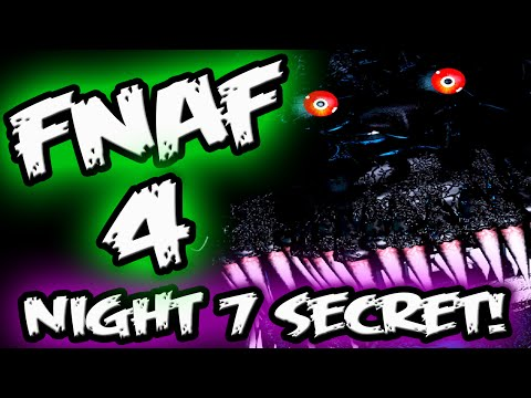 FNAF 4 NIGHTMARE JUMPSCARE! || NEW Animatronic in NIGHT 7 || Five Nights at Freddy's 4 Nightmare