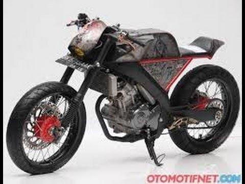 Modifikasi Yamaha VIXION Japanis Style