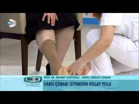 Varis çorabı giymenin kolay yolu