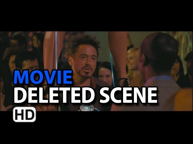 "Iron Man 2 (2010) Deleted Scene ""Party Time"""