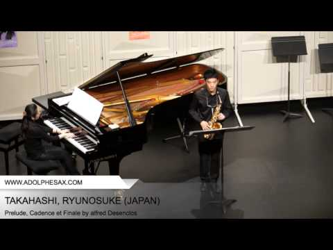 Dinant 2014 TAKAHASHI Ryunosuke Prelude, Cadence et Finale by Alfred Desenclos