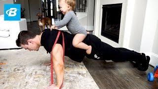 At-Home Resistance Band Push Workout | Abel Albonetti