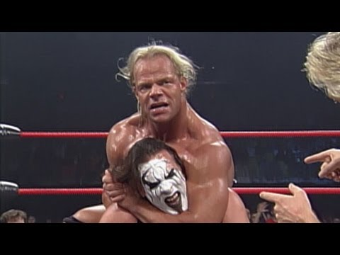 Sting vs. Lex Luger - Lumberjack with Casts Match
