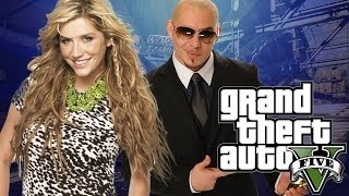 """NUMBER 5"" (KESHA & PITBULL TIMBER PARODY) GTA 5"