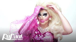 Drag Makeup Tutorial: Trixie Mattel's Bubble Gum Fantasy | RuPaul's Drag Race | Logo