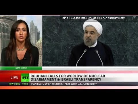 Farewell to Arms: Iran's Rouhani calls for worldwide nuclear disarmament