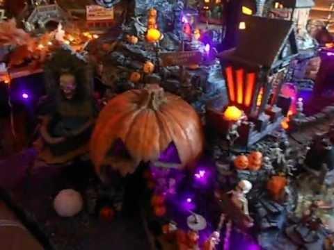 Nightmare Before Christmas Train Hawthorne Village/Dept 56 Halloween ...