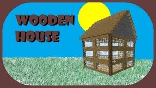 How To Build Perfect Wooden House Minecraft Pocket Edition