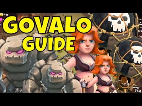 GOVALO in 3 Easy Steps!!   Clash Of Clans   Th9 Strategy Guide