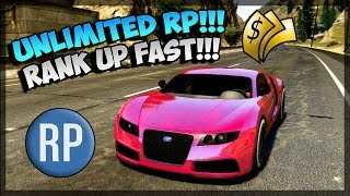 GTA 5 Glitches New RP Glitch ! How To Rank Up Fast In