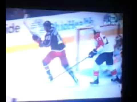 Shorthanded goal by Artem Anisimov of the CBJ