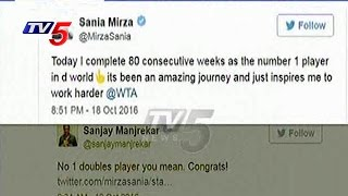 Sania Mirza, Sanjay Manjrekar Twitter war Over Tennis Rank..
