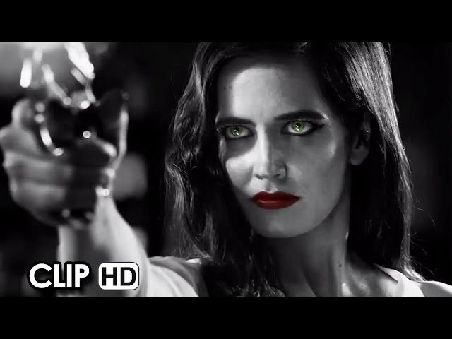 Sin City: A Dame To Kill For Official Movie Clip #1 - Crazy (2014) HD