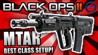 """Black Ops 2: BEST CLASS SETUP - """"MTAR"""" (Agility!) - Call of Duty BO2 Gameplay"""