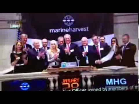 Marine Harvest lists on the NYSE