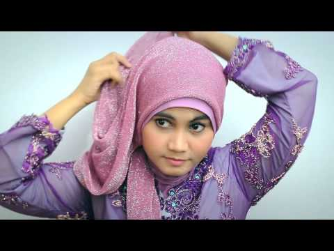 Hijab tutorial Kebaya Modern/Graduation Day