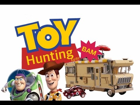 Toy Hunting Ep 91 Toy Story & Walking dead Hotwheels