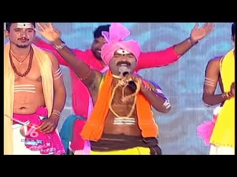 MLA Rasamayi Balakishan Performance At World Telugu Conference