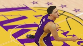 Who Can Make a Half Court Shot First in the Ball Family? Lonzo, LiAngelo, LaMelo, or LeVar!? NBA2k17