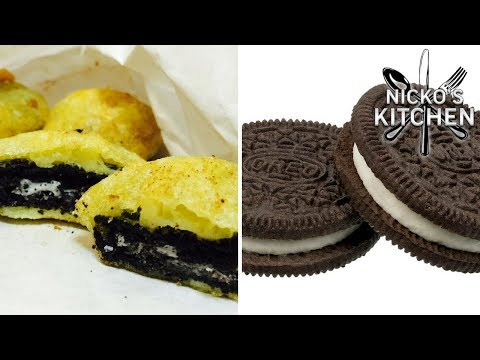DEEP FRIED OREO'S - VIDEO RECIPE